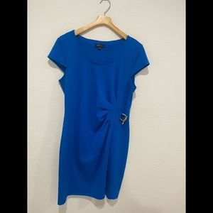 Spense Royal Blue gold Dress 14